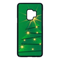Christmas Tree Green Samsung Galaxy S9 Seamless Case(black)