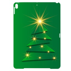 Christmas Tree Green Apple Ipad Pro 10 5   Black Uv Print Case