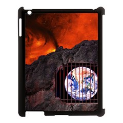 Earth Day Apple Ipad 3/4 Case (black) by HermanTelo