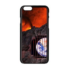 Earth Day Iphone 6/6s Black Enamel Case