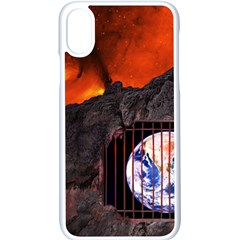 Earth Day Iphone X Seamless Case (white)