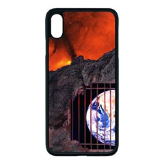 Earth Day Iphone Xs Max Seamless Case (black)