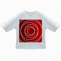 Circles Red Infant/toddler T Shirts by HermanTelo
