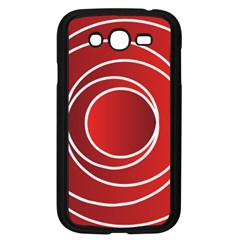 Circles Red Samsung Galaxy Grand Duos I9082 Case (black)