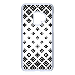 Concentric Plaid Samsung Galaxy S9 Seamless Case(white)