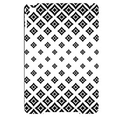 Concentric Plaid Apple Ipad Mini 4 Black Uv Print Case by HermanTelo
