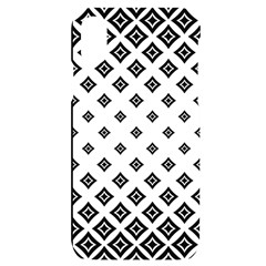 Concentric Plaid Iphone X/xs Black Uv Print Case