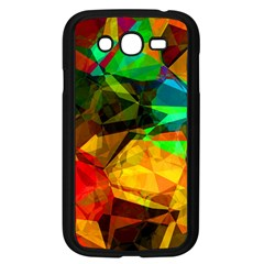Color Abstract Polygon Samsung Galaxy Grand Duos I9082 Case (black) by HermanTelo