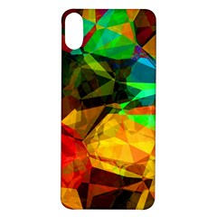 Color Abstract Polygon Iphone X/xs Soft Bumper Uv Case