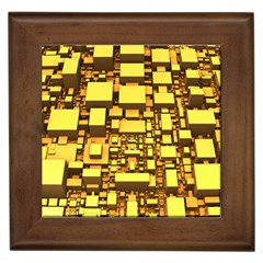 Cubes Grid Geometric 3d Square Framed Tiles