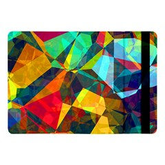 Color Abstract Polygon Background Apple Ipad Pro 10 5   Flip Case