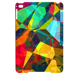 Color Abstract Polygon Background Apple Ipad Mini 4 Black Uv Print Case by HermanTelo