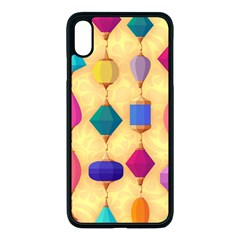 Colorful Background Stones Jewels Iphone Xs Max Seamless Case (black)