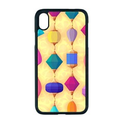 Colorful Background Stones Jewels Iphone Xr Seamless Case (black)