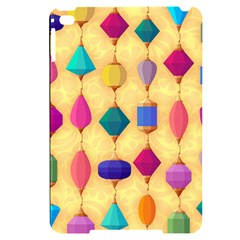 Colorful Background Stones Jewels Apple Ipad Mini 4 Black Uv Print Case by HermanTelo