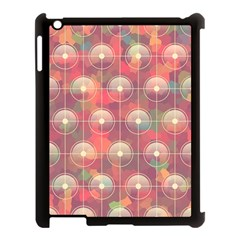 Colorful Background Abstract Apple Ipad 3/4 Case (black) by HermanTelo