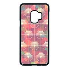 Colorful Background Abstract Samsung Galaxy S9 Seamless Case(black)