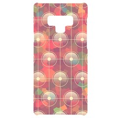 Colorful Background Abstract Samsung Note 9 Black Uv Print Case  by HermanTelo