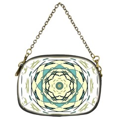 Circle Vector Background Abstract Chain Purse (two Sides) by HermanTelo