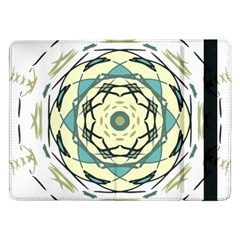 Circle Vector Background Abstract Samsung Galaxy Tab Pro 12 2  Flip Case