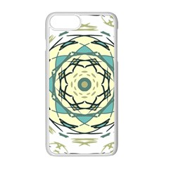 Circle Vector Background Abstract Iphone 8 Plus Seamless Case (white)