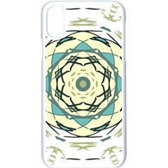 Circle Vector Background Abstract Iphone Xs Seamless Case (white) by HermanTelo