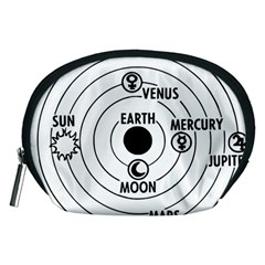 Earth Geocentric Jupiter Mars Accessory Pouch (medium) by HermanTelo
