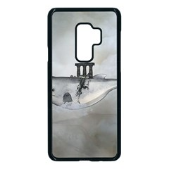 Awesome Whale In The Sky Samsung Galaxy S9 Plus Seamless Case(black)