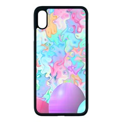 Eggs Happy Easter Rainbow Iphone Xs Max Seamless Case (black)