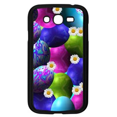 Eggs Happy Easter Samsung Galaxy Grand Duos I9082 Case (black) by HermanTelo
