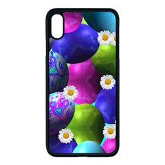 Eggs Happy Easter Iphone Xs Max Seamless Case (black)