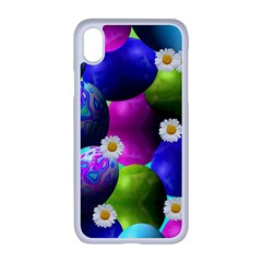 Eggs Happy Easter Iphone Xr Seamless Case (white)