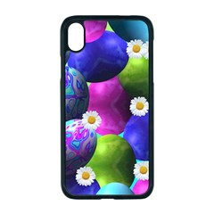 Eggs Happy Easter Iphone Xr Seamless Case (black)
