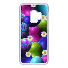 Eggs Happy Easter Samsung Galaxy S9 Seamless Case(white)