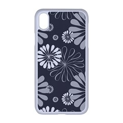 Floral Pattern Iphone Xr Seamless Case (white)