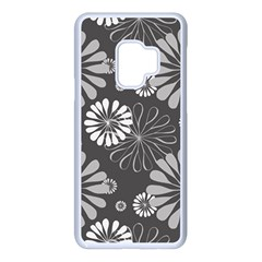 Floral Pattern Samsung Galaxy S9 Seamless Case(white)