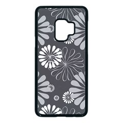 Floral Pattern Samsung Galaxy S9 Seamless Case(black)