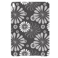 Floral Pattern Apple Ipad Pro 10 5   Black Uv Print Case