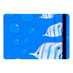 Fish School Bubbles Underwater Sea Apple Ipad 9 7