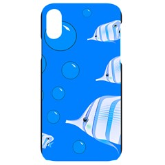 Fish School Bubbles Underwater Sea Iphone Xr Black Uv Print Case