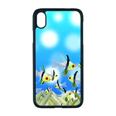Fish Underwater Sea World Iphone Xr Seamless Case (black)