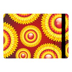 Floral Abstract Background Texture Apple Ipad Pro 10 5   Flip Case