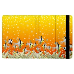 Fish Snow Coral Fairy Tale Apple Ipad Mini 4 Flip Case