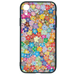 Floral Flowers Abstract Art Iphone Xr Soft Bumper Uv Case