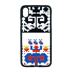 Folk Art Fabric Iphone Xr Seamless Case (black)