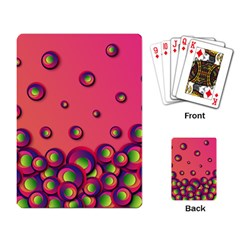 Funny Texture Playing Cards Single Design