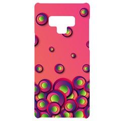 Funny Texture Samsung Note 9 Black Uv Print Case  by HermanTelo