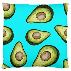 Fruite Avocado Large Flano Cushion Case (two Sides) by HermanTelo