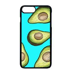 Fruite Avocado Iphone 8 Plus Seamless Case (black)