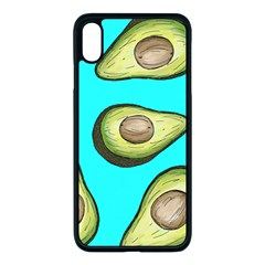Fruite Avocado Iphone Xs Max Seamless Case (black)